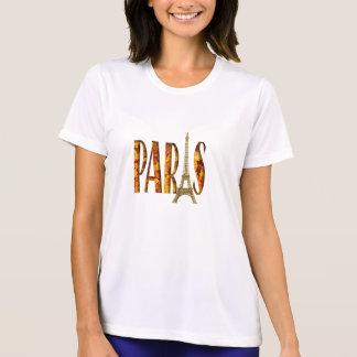 T-shirt Feuille de Paris de Tour Eiffel