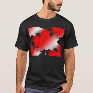 T-shirt Feuille d'érable canadienne