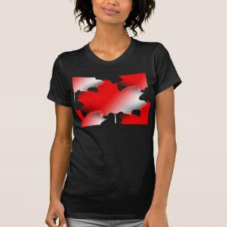 T-shirt Feuille d'érable canadienne de dames