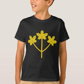 T-shirt Feuille d'or d'érable d'Ontario