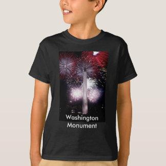 T-shirt Feux d'artifice de monument de Washington
