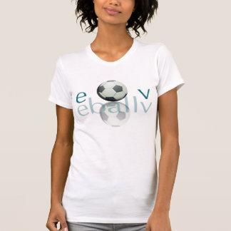 T-shirt Fibre de représentation du football des femmes