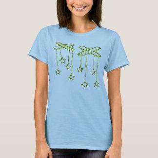T-shirt ficelles d'étoile