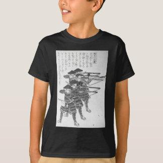 T-shirt Ficelles pour la mise à feu de nuit par Utagawa