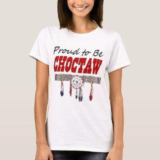 T-shirt Fier d'être des dames de Choctaw a adapté le