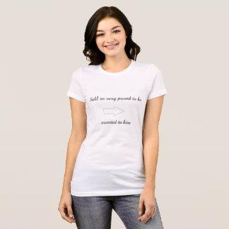 T-shirt Fier d'être marié à lui chemise