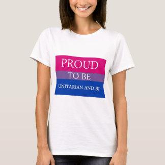 T-shirt Fier d'être unitarien et Bi
