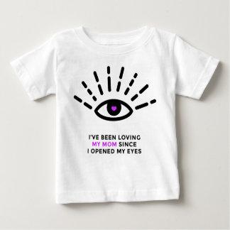 T-shirt fier du Jersey d'amende de bébé