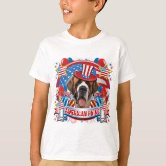 T-shirt Fierté américaine St Bernard