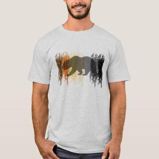 T-shirt Fierté gaie d'ours d'ombre grunge fraîche d'ours