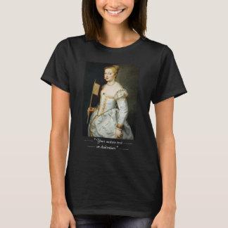 T-shirt Fille avec le portrait d'huile de Peter Paul