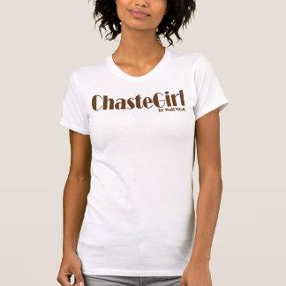 T-shirt Fille chaste par usage d'attente