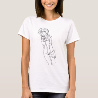T-shirt Fille d'Anime de la science fiction