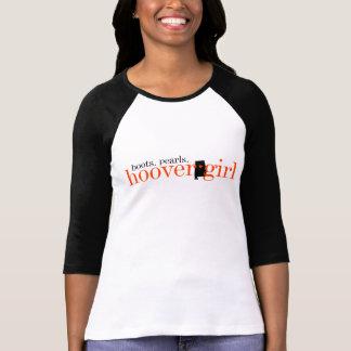 T-shirt fille d'aspirateur - bottes et perles