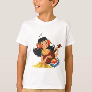 T-shirt Fille de danse polynésienne de danse polynésienne