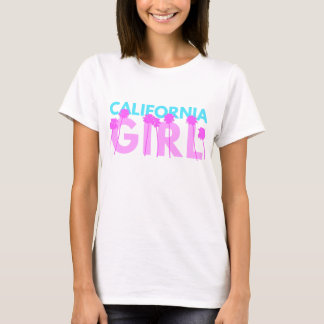 T-shirt Fille de la Californie