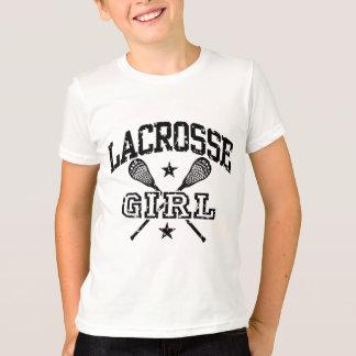T-shirt Fille de lacrosse