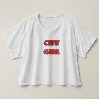 T-shirt Fille de ville