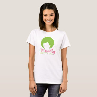 T-shirt Fille naturellement jolie