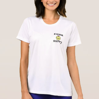 T-SHIRT FILLE SOURIANTE 3, CANOEHAPPY
