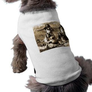 T-shirt Filles de danse polynésienne vintages du