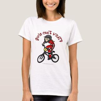 T-shirt Filles rouge-clair BMX