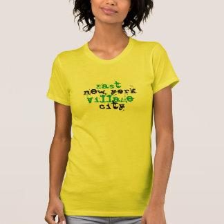 T-shirt fin de NEW YORK CITY Jersey d'EAST VILLAGE