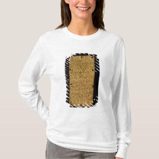 T-shirt Fine couche d'or avec l'inscription phénicienne,