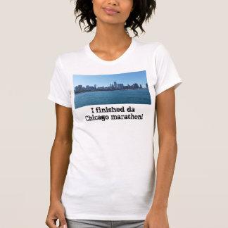 T-shirt Finisseur de marathon de Chicago