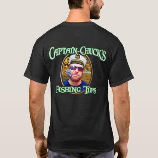 T-shirt Fishing Tips de capitaine Chuck's