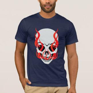 T-shirt flamboyant de crâne