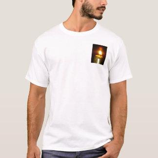 T-shirt flamme de bougie