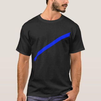 T-shirt Flèche 35deg bleu les cadeaux de Zazzle de MUSÉE