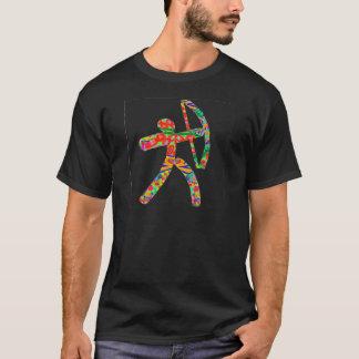 T-shirt Flèche d'arc de TIR À L'ARC