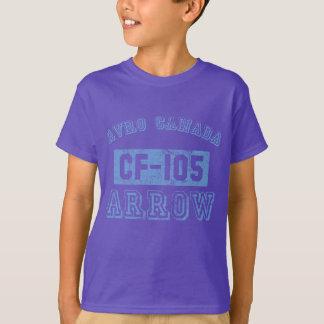 T-shirt Flèche d'Avro Canada - BLEU
