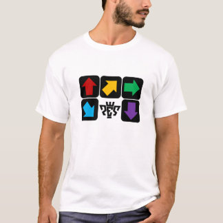 T-shirt Flèches 2 de SIÈGE POTENTIEL D'EXPLOSION