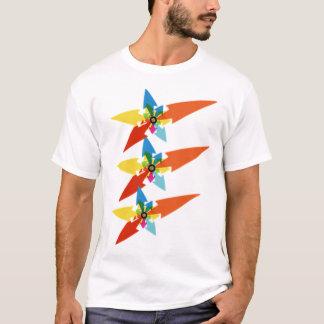 T-shirt Flèches colorées graphiques