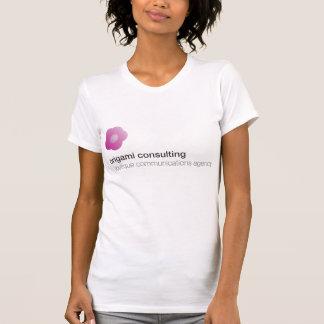 T-shirt Fleur - consultation d'origami