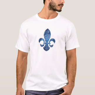 T-shirt Fleur de lys - Québec