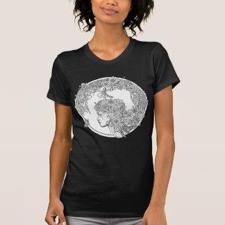 T-shirt Fleur féerique : Coloration adulte de