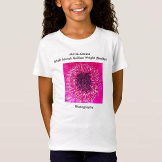 T-Shirt Fleur rose