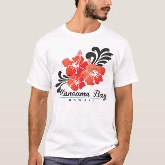 T-shirt Fleur rouge de ketmie d'Hawaï