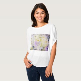 T-shirt Fleurs congelées