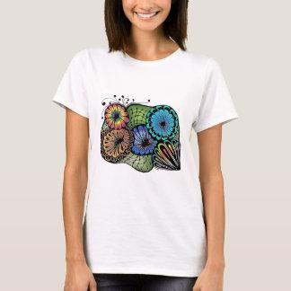 T-shirt Fleurs folles