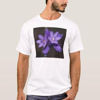 T-shirt Fleurs pourpres