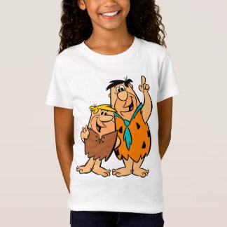 T-Shirt Flintstone de blocaille et de Fred de prise de bec