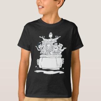 T-shirt Flintstones Families1