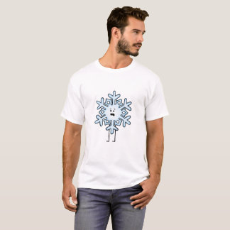 T-shirt Flocon de neige bouleversé