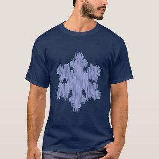 T-shirt Flocon de neige de glaçon - les hommes