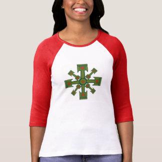 T-shirt flocon de neige de piston